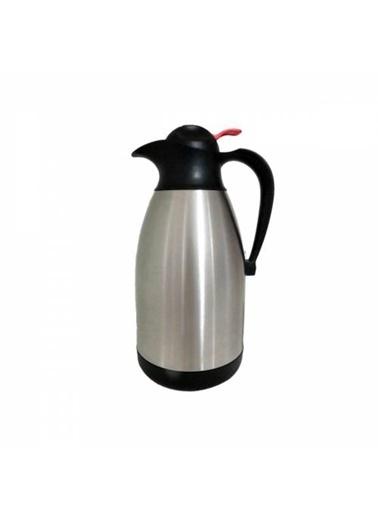 Remetta Caldo Plus 2,5 Litre Çelik Termos - Siyah Siyah
